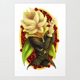 Floral Debonair Art Print