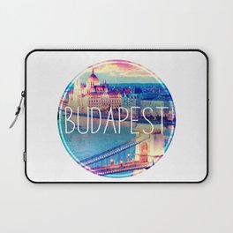 Budapest, Hungary, Chain Bridge Laptop Sleeve