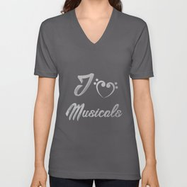 Musical Love | Theatre Nerds Actor Actress Arts Unisex V-Neck