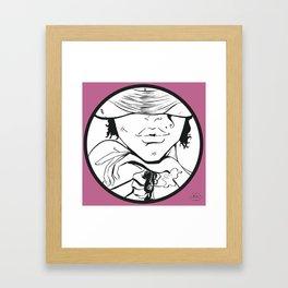 facetime Framed Art Print