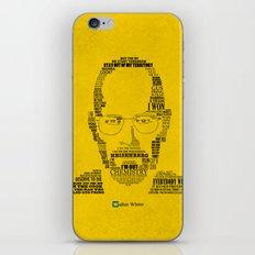 Breaking Bad:  Walter White iPhone & iPod Skin