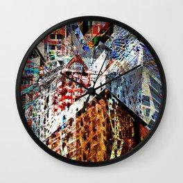 Urban Chaos Wall Clock
