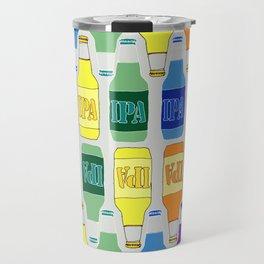 RAINBOW IPA BEER PATTERN Travel Mug