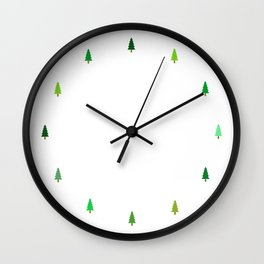 99 trees, none of them a problem Wall Clock