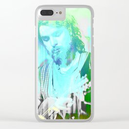 The Mandolin Player Clear iPhone Case
