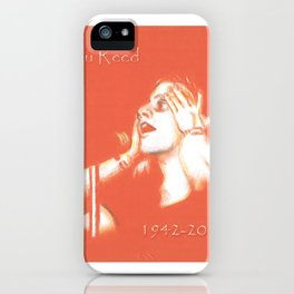 Lou Reed May He Rest In Peace iPhone Case