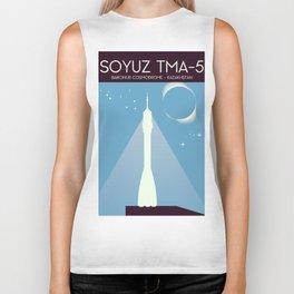 Soyuz TMA-5 Space Art Biker Tank