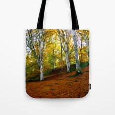 Autumn Trees Woodland Tote Bag