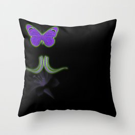 Buttefly Love Throw Pillow