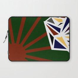 Sunrise Diamond Ellipse Laptop Sleeve