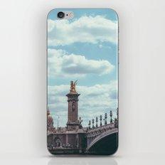 Pont Alexandre III, Paris  iPhone Skin
