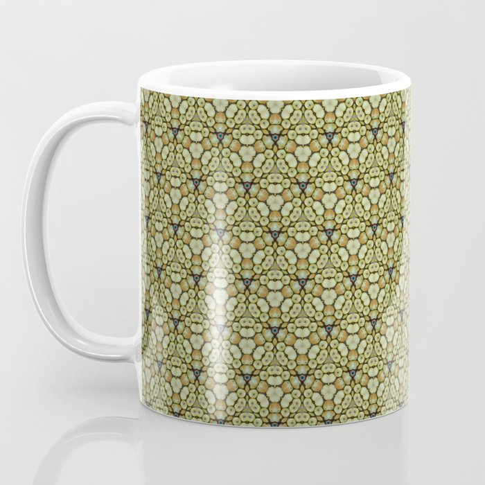 Yellow Apples Pattern Coffee Mug