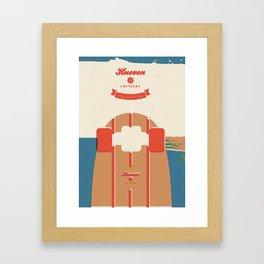 Hueven Cruisers Framed Art Print