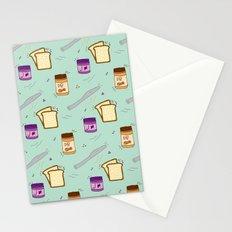 PEANUT BUTTER JELLY TIME Stationery Cards