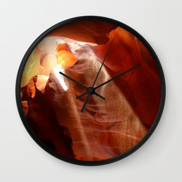 Amazing Antelope Canyon Wall Clock