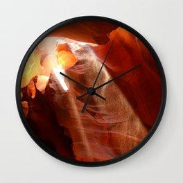 Amazing Antelope Canyon Wall Clock
