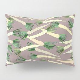 Daikon Radish Carrot Roots Pillow Sham