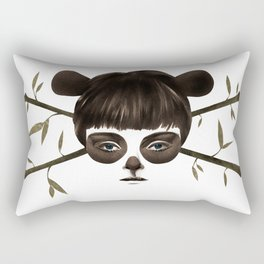 Pirate Panda Rectangular Pillow