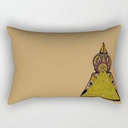 My God Loves Everyone! Rectangular Pillow