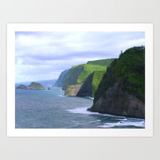 Kohala Coast, Hawaii Art Print