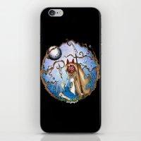 princess mononoke iPhone & iPod Skins featuring Princess Mononoke by Jena Sinclair