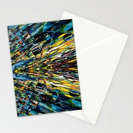 Street Reflection, Detail Stationery Cards