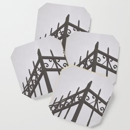 on the fence Coaster