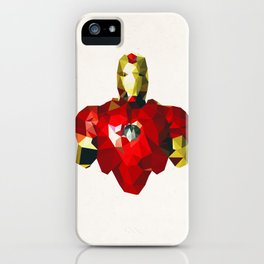 Polygon Heroes - Iron Man iPhone Case