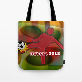 Soccer Kicker Tote Bag