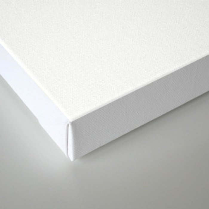 Mid Century Modern Geometric Abstract Radiating Lines Canvas Print