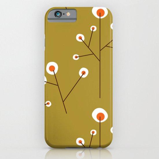 Retro Green Pattern Design iPhone & iPod Case