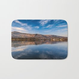 Llanberis Lake Reflections Bath Mat