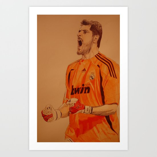 Casillas Art Print