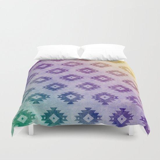 Aztec Pattern 06 Duvet Cover