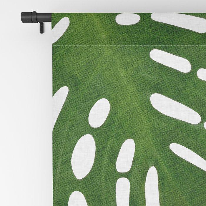 Monstera Leaf I Blackout Curtain