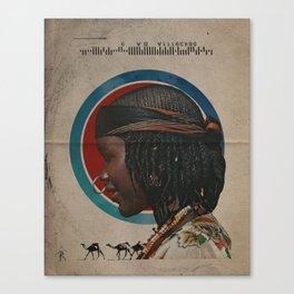 Queen of Caravans Canvas Print