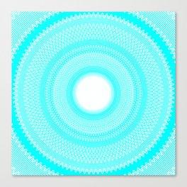 Waves v4 Canvas Print