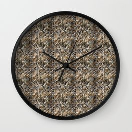 Digital backgrounds Wall Clock