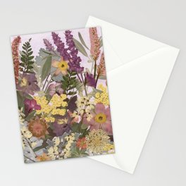 Pressed Flower English Garden Stationery Cards