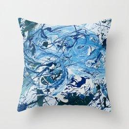 Blue Sky Dream Throw Pillow