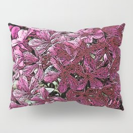 PINK & PURPLE FLORAL PATTERN FROM SOCIETY6 Pillow Sham