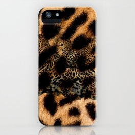 Leopard Shadow iPhone Case