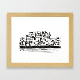 Habitat 67 Framed Art Print