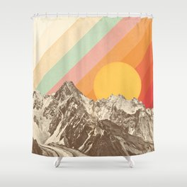 Mountainscape 1 Shower Curtain