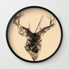 Cervus (Classic Version) Wall Clock