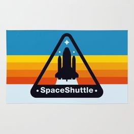 NASA Space Shuttle Badge Rug