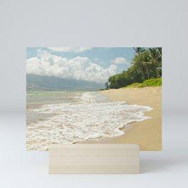 maui beach Mini Art Print