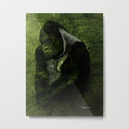 The Gorilla Metal Print