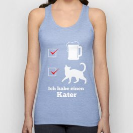 alcohol hangover beer drinking fun funny gift Unisex Tank Top