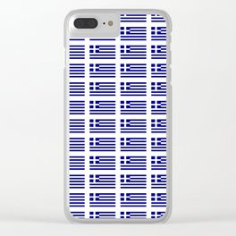 Flag of greece -Greek, Ελλάδα,hellas,hellenic, athens,sparte,aristotle. Clear iPhone Case